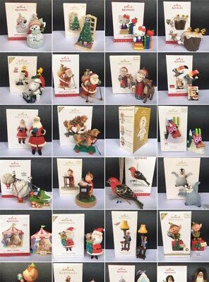 Hallmark Ornaments Collectible Santa Christmas Tree Decoration Various New