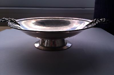 silver fruit bowl fully hallmarked 579 grams lovely bowl grape handles quality