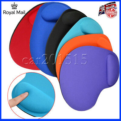 Soft Comfort Wrist Rest Support Mat Mouse Mice Pad Computer PC Laptop UK FAST