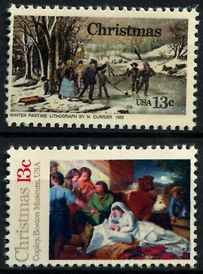 USA 1976 SG#1678-9 Christmas MNH Set #D55496