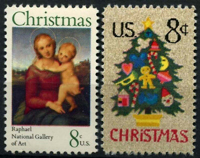 USA 1973 SG#1513-4 Christmas MNH Set #D55479