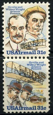 USA 1979 SG#A1735-6 Air Aviation MNH Vert Pair Set #D55508