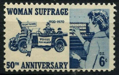 USA 1970 SG#1402 Women Suffrage MNH #D55459