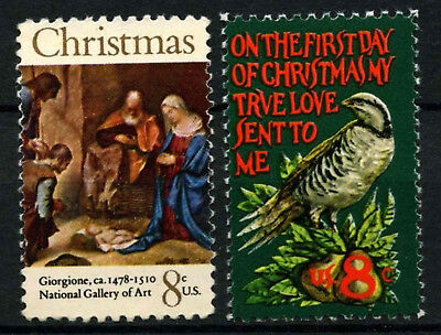 USA 1971 SG#1447-8 Christmas MNH Set #D55476