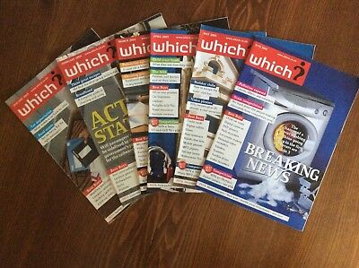 SIX Months of Which? Magazines 2005 January February March April May June