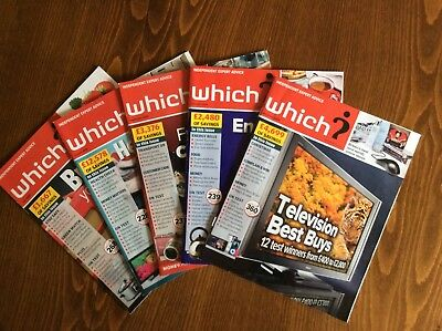FIVE Months of Which? Magazines 2009 July August September October November
