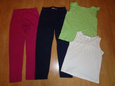 Hanna Andersson Girls Lot Clothes Leggings Pants & Tank Tops 130/140 8/10