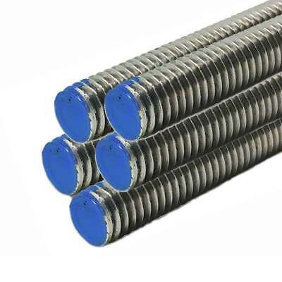 18-8 Stainless Steel Threaded Rod, Size: 7/8-9, Length: 36 inches (5 Pack)