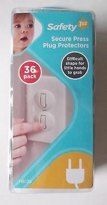 New Safety 1st 36 Pack Secure Press Plug Protectors baby  safe  protect  child