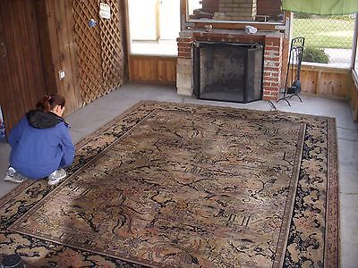 Whittall Anglo-Persian Wilton 9'x12' 1930s Area Rug
