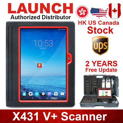 Launch X431 V+ ScanPad Diagnostic Scanner Tool Tablet Global For GM Ford Toyota