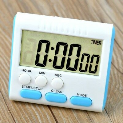Large LCD Digital Kitchen Timer Countdown 24 Hours