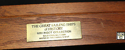 The great Ships Mini Ingot Collection set of 50 Sterling Silver bars 3gm each