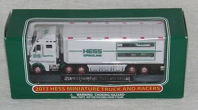 2013 HESS Miniature Truck and Racers, Mint in the Box