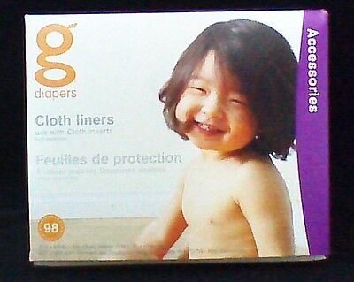 G DIAPERS Flushable Cloth Liners