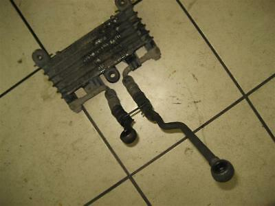 7. Kawasaki GTR 1000 yr 88 OIL COOLER OIL COOLER COOLANT with oil lines