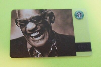 RARE Starbucks 2004 Orig. RAY CHARLES Special Edition Hear Music card *NM*