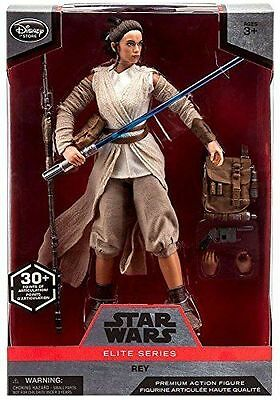 MNIB Disney Store Star Wars Elite Series Rey Premium Action Figure - 10''