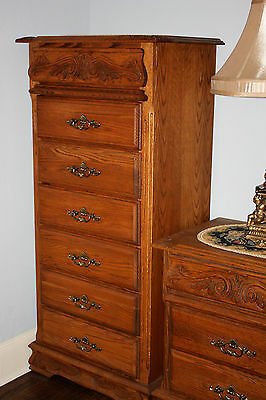 OAKWOOD INTERIORS Oakcrest Lingerie Chest Dresser Cabinet Bedroom