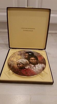 """Royal Doulton """"A BRIGHTER DAY"""" from All God's Children Collection BOXED"""
