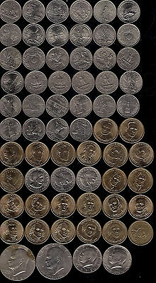 Choose From America Usa Coins Quarters Cents Commemorative $1/2 25 $1 Dollars