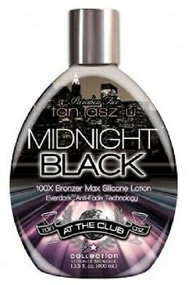 Brand New Tan Asz U MIDNIGHT BLACK Tanning lotion   free shipping