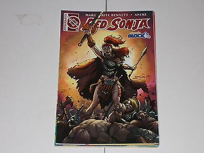 Red Sonja 1 Vol 3 (2016) Comic Block Variant