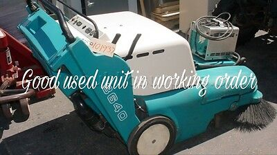 Tennant 3640  walk-behind sweeper in good used condition