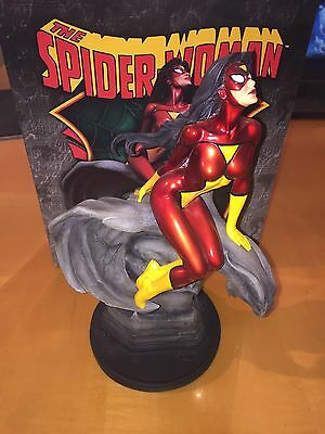 Bowen Designs Marvel Limited Spiderwoman Spider-Woman Full Size Painted Statue