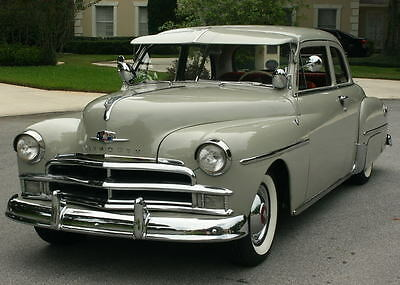 1950 Plymouth Club Coupe SPECIAL DELUXE - RESTORED EXCELLENT RUST FREE BEAUTY - 1950 Plymouth Special Deluxe Club Coupe