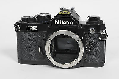 Nikon FM2N SLR Film Camera Body FM-2N Black                                 #656