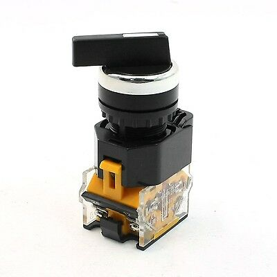 NO+NC 4 Terminals Rotary Selector Control Button Switch Ith 10A Ui 380V