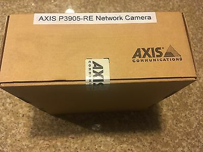 New In Box Axis P3905-RE Network Camera