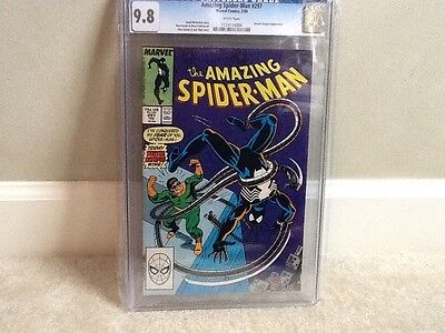 Amazing spider man 297 cgc 9.8 white pages