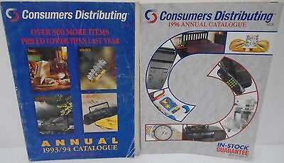 2 Toy Reference Consumers Distributing Canadian Catalog Store Full Colour 1993