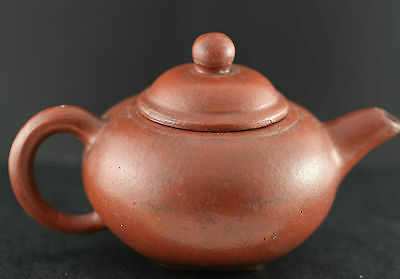 Very Nice Antique Chinese Yixing Zisha Small Teapot Signed Circa 1930s