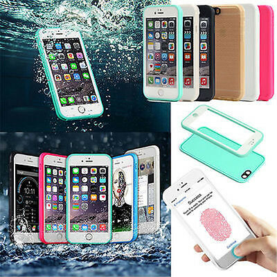 Waterproof Shockproof Hybrid Rubber TPU Case Cover For iPhone XR 8 7 Plus 6S 5