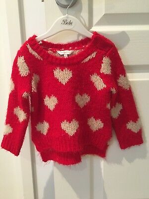 FOX&FINCH BABY girls Hearts Jumper