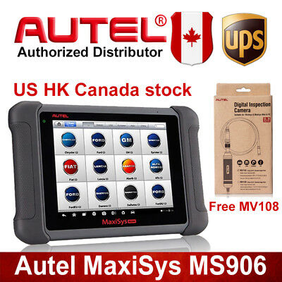 Autel MaxiSys MS906 Car OBD2 Diagnostic Free MV108 TPMS EPB A/T ABS For BMW Benz