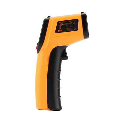 Hot Non-Contact LCD IR Laser Infrared Digital Temperature Thermometer SK