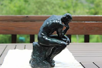 "Bonded Bronze ""The Thinker""-Rodin-- the Metropolitan gift shop originally $225"