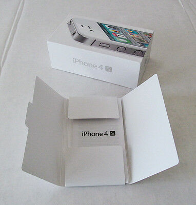 Apple Iphone 4S Box and Manual Only