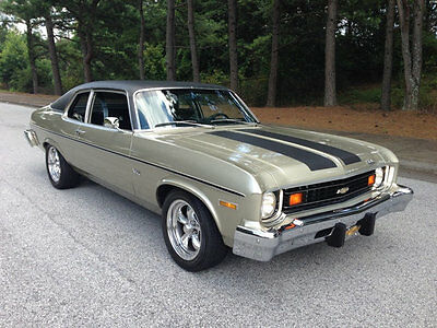 1974 Chevrolet Nova Chevy Nova 1974 Chevy Nova New GM 350ci 333hp HO Crate Motor TH350 Wilwood Disc ICE COLD AC