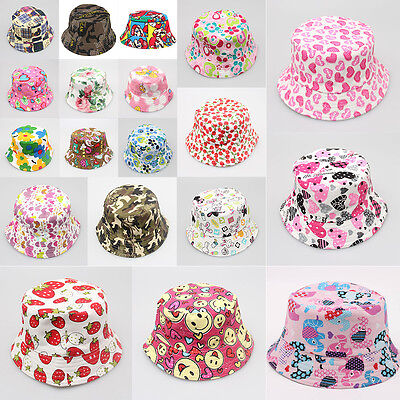 Baby Toddler Kid Child Flower Pots Sun Cap Sunshine Beach Baby Hat