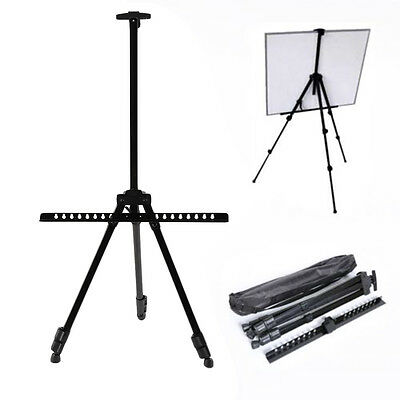 artist field studio display painting adjustable tripod white board