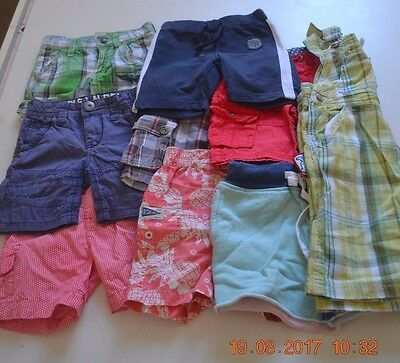 Mixed Designer Shorts Boys Size 2/3 Tumble 'N Dry Country Road Seed Jack & Milly