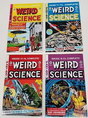 EC Annuals Weird Science 1, 3,4 and 5
