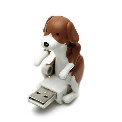 UK Top Funny Cute pet USB Humping Spot Dog Laptop ChristmasGray Gift Toy Relief