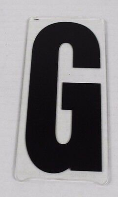 Vintage Gemini Marquee Sign Display Letter 6'' In ''g'' G Movie Theater Plastic