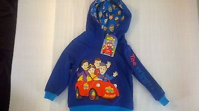 Wiggles / Boys / Hoodie / Available In Sizes 1, 2, 3, 4 and 5.